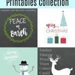 Christmas Printables Collection