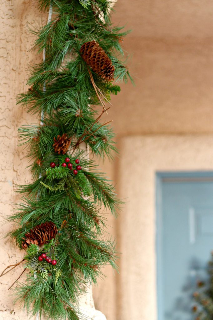 Front Porch Pine Garland