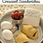Sausage & Cheese Crescent Sandwich