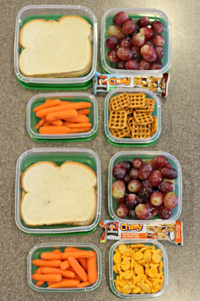Daily Organizing Habits lunches