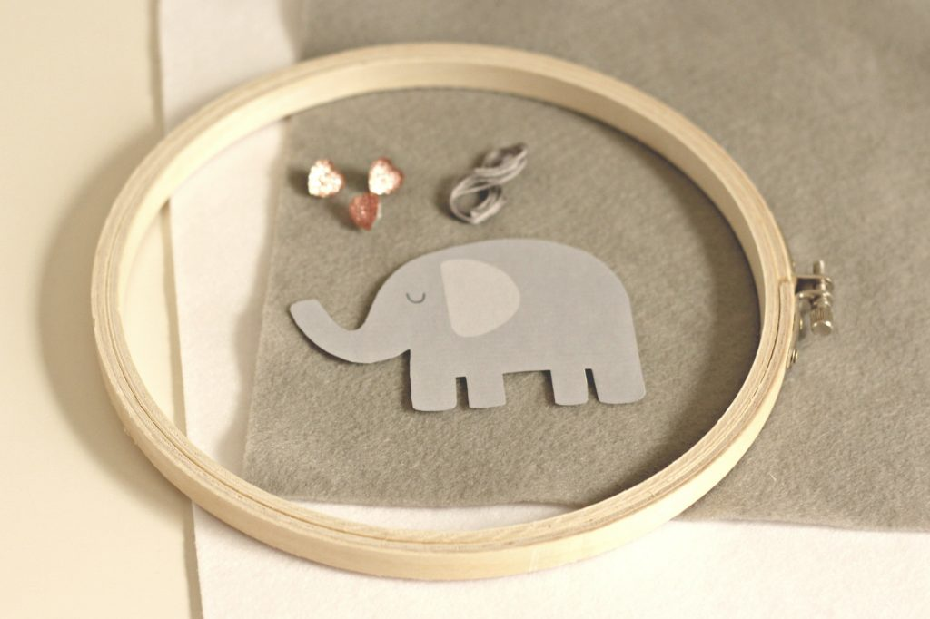 elephant hoop art supplies