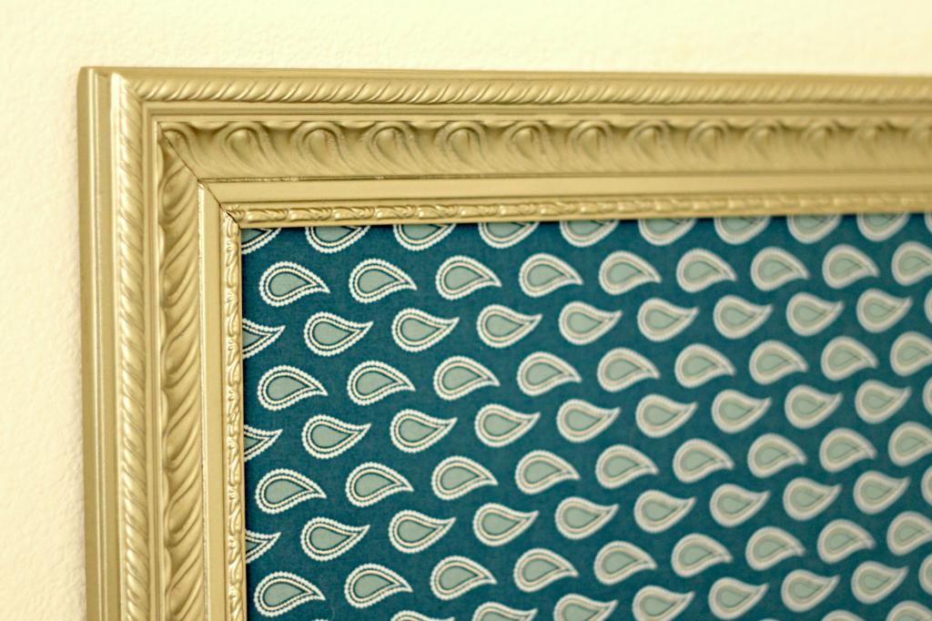 Large frame headboard details