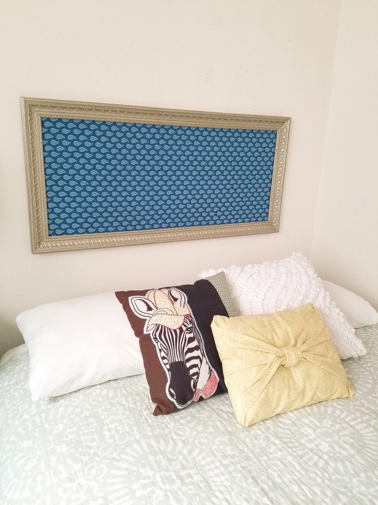 Large frame to headboard