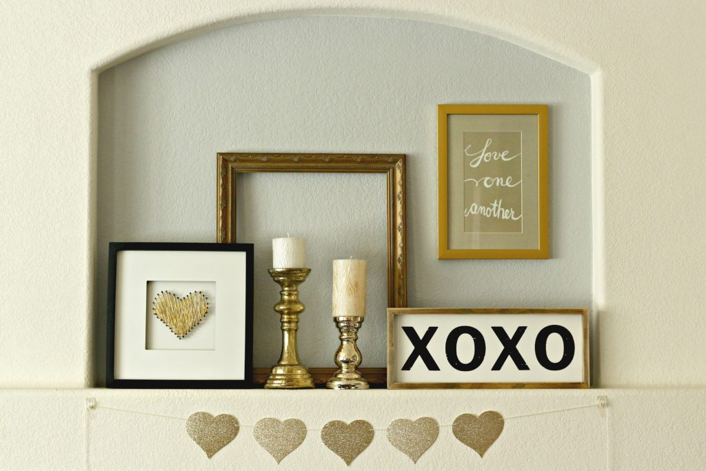 Love One Another Mantel