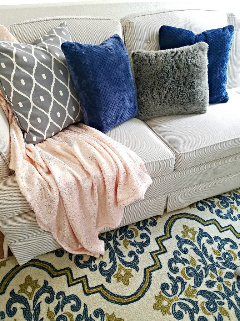 Tidy Home pillows and throws