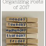 Top 10 Organizing Posts of 2017