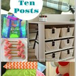 Top 10 Posts of Organize and Decorate Everything