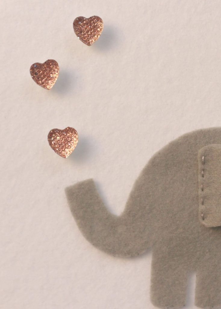 elephants blowing hearts