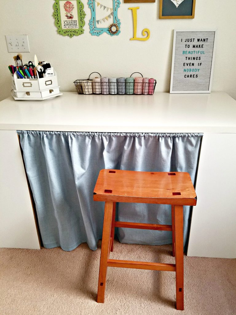 Craft room bench