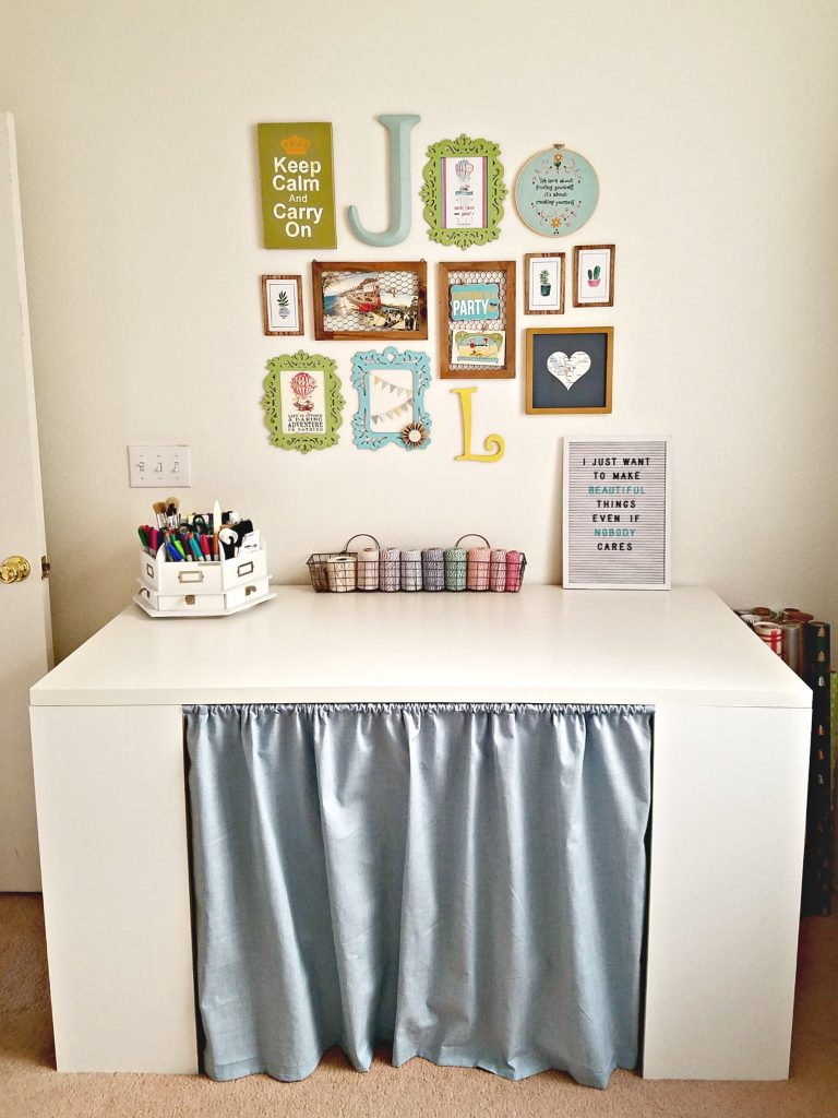 Craft Room craft table