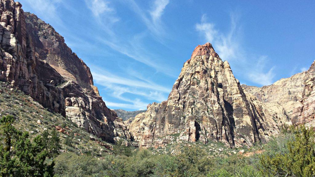 Red Rock Canyon Pine Creek Canyon