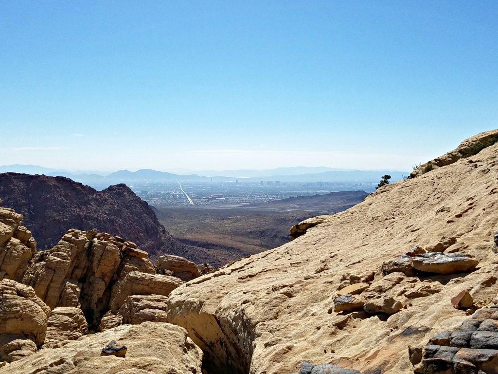 Red Rock Canyon Vegas view