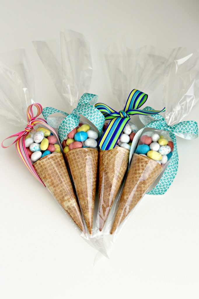 Candy Cones for Easter