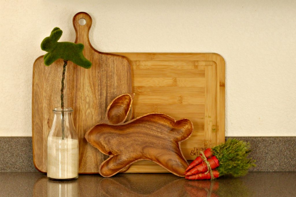Easter decor cutting boards