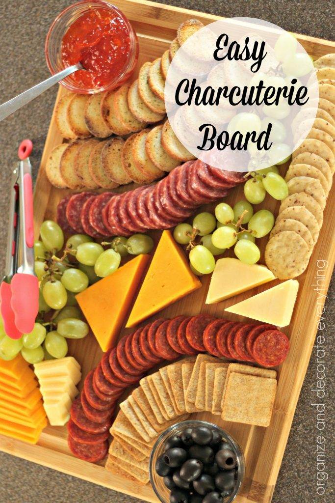 Inexpensive and Easy Charcuterie Boards