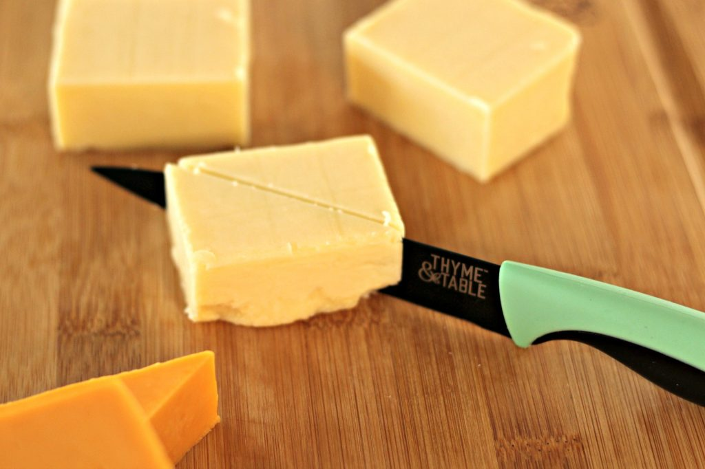 cheese and knife