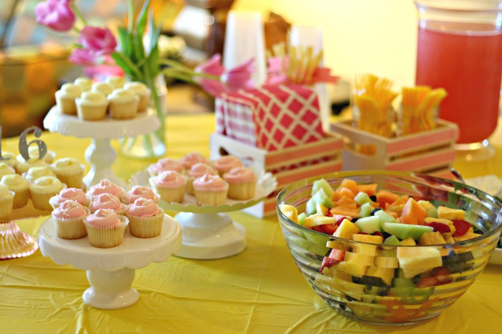 graduation party food table