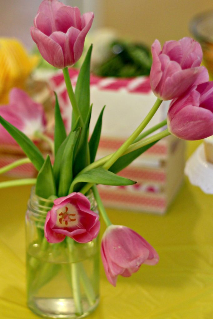graduation party tulips