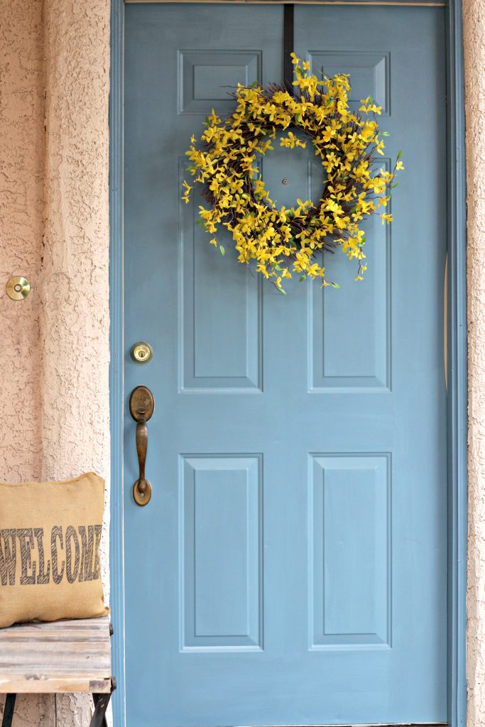 How to Paint a Front Door after photo