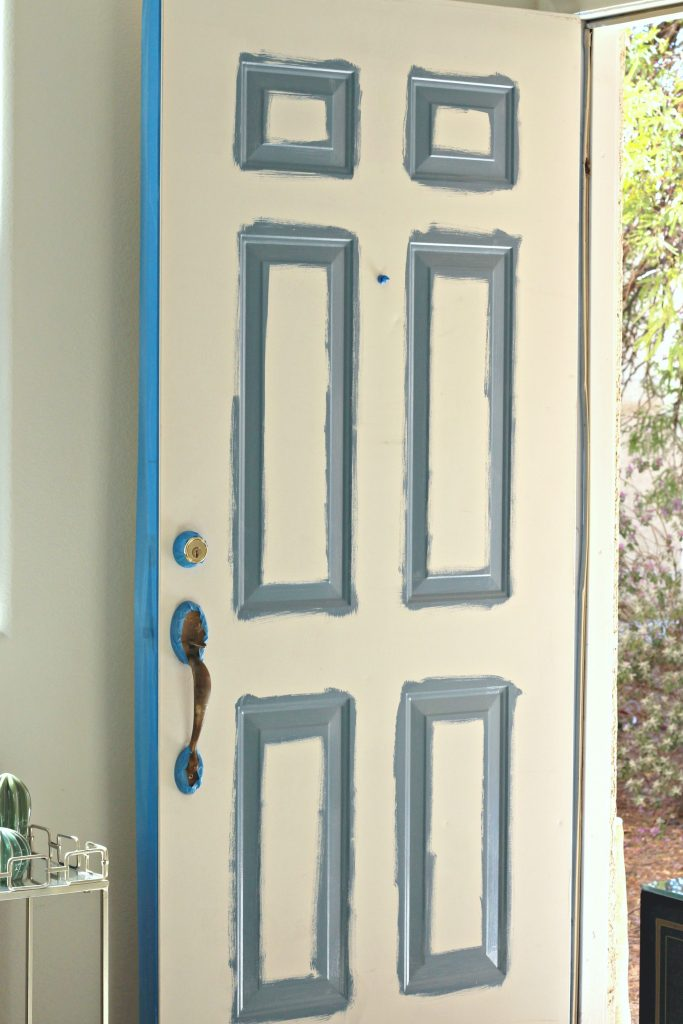 How to Paint a Front Door step 1