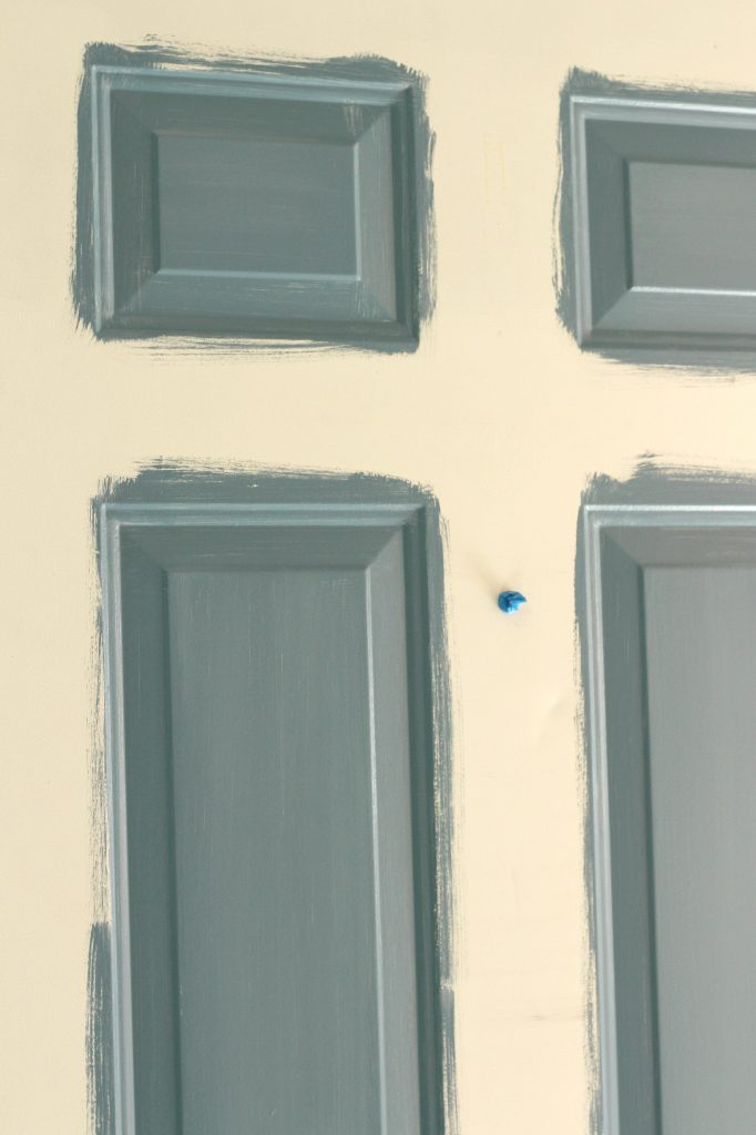How to Paint a Front Door step 2
