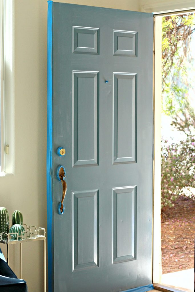 How to Paint a Front Door step 3