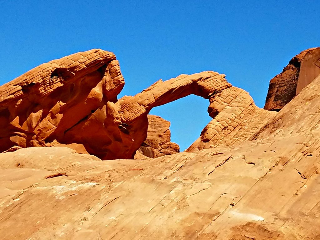 Valley of Fire Arch Rock