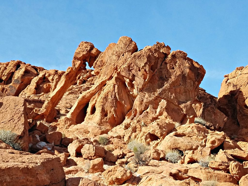 Valley of Fire Elephant Rock