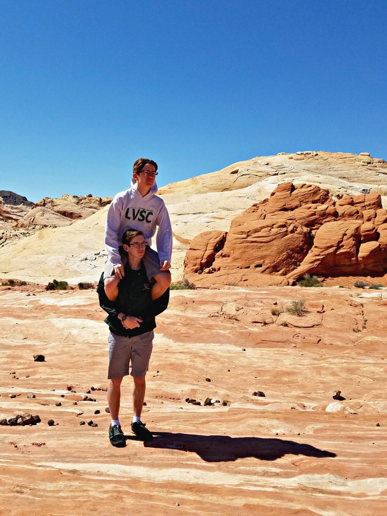 Valley of Fire Fire Wave Zach and Ammon