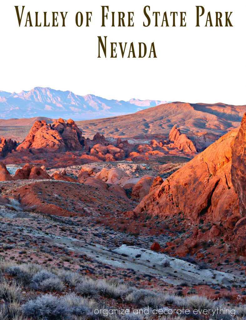Valley of Fire State Park Nevada pinterest