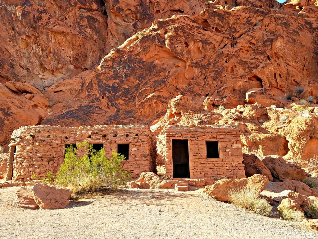 Valley of Fire the Cabins
