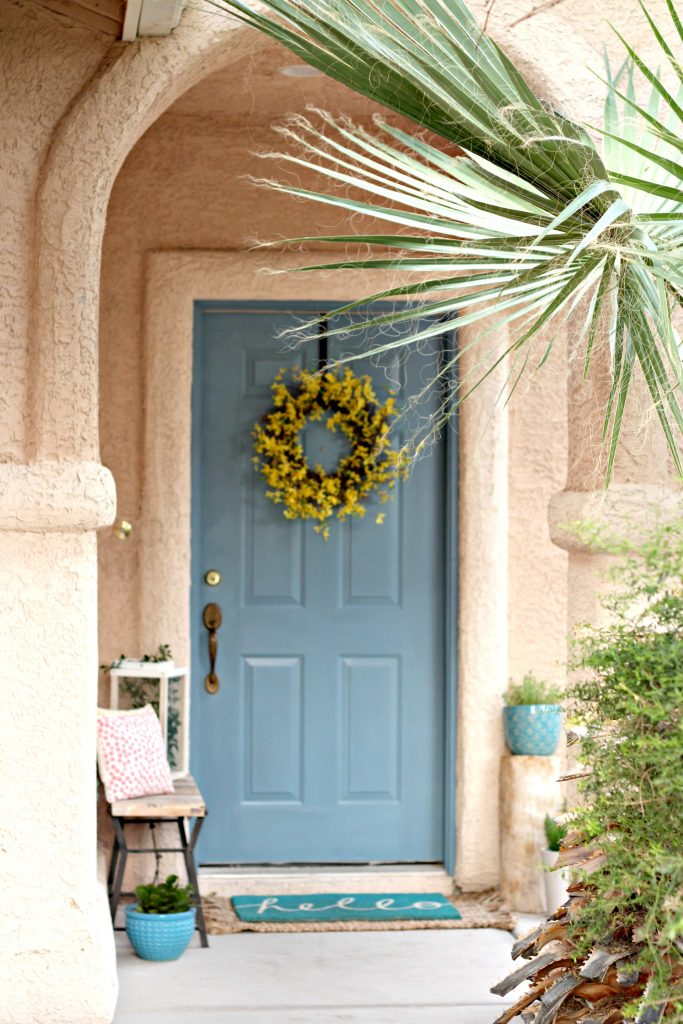 Spring Summer Front Porch entry