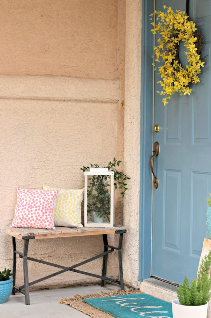 Spring Summer Front Porch welcoming