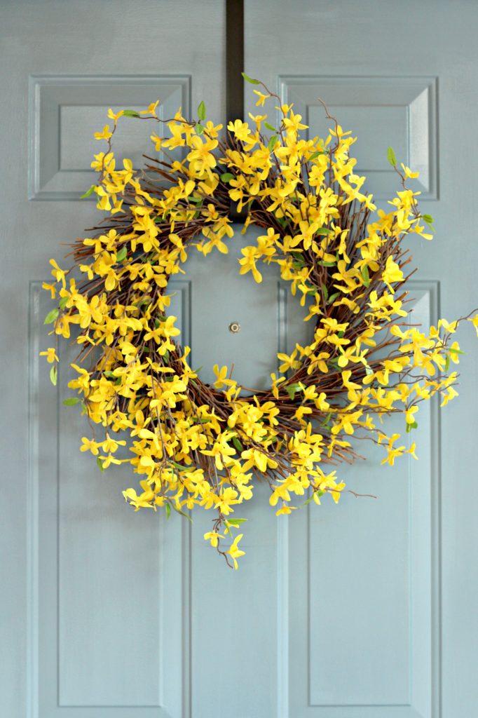 Spring Summer Front Porch wreath