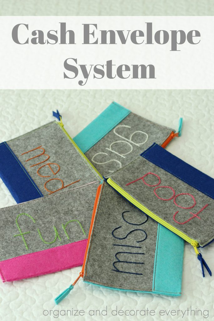 Cash Envelope System for easy budgeting