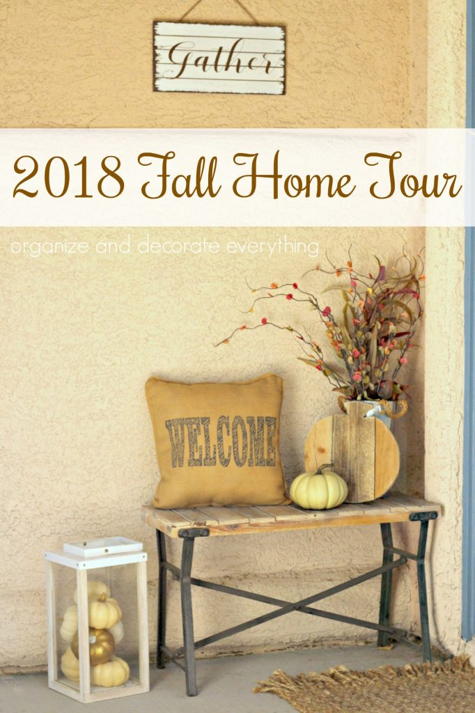 Fall Home Tour pinterest