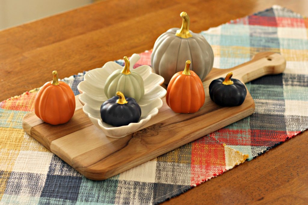 Fall Home Tour dining table