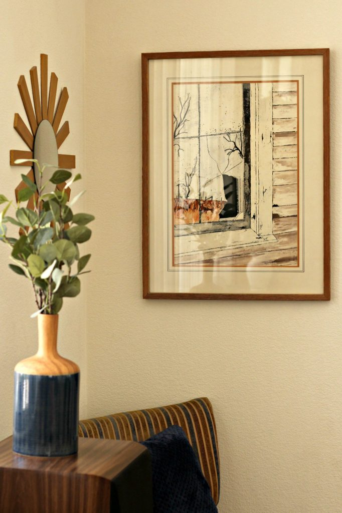 Fall Home Tour family room corner