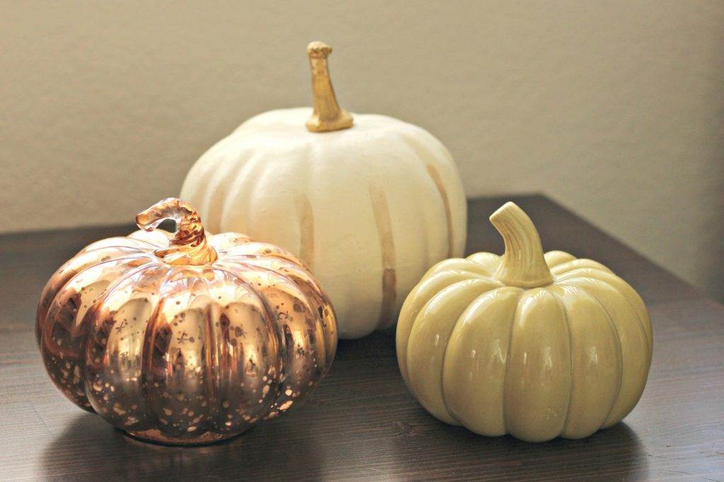 Fall Home Tour pumpkin variety