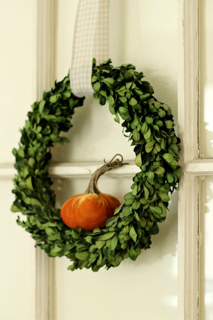 Fall Home Tour wreath