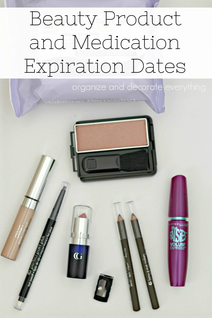 Beauty Product and Medication Expiration Dates