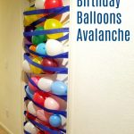Birthday Balloons Avalanche