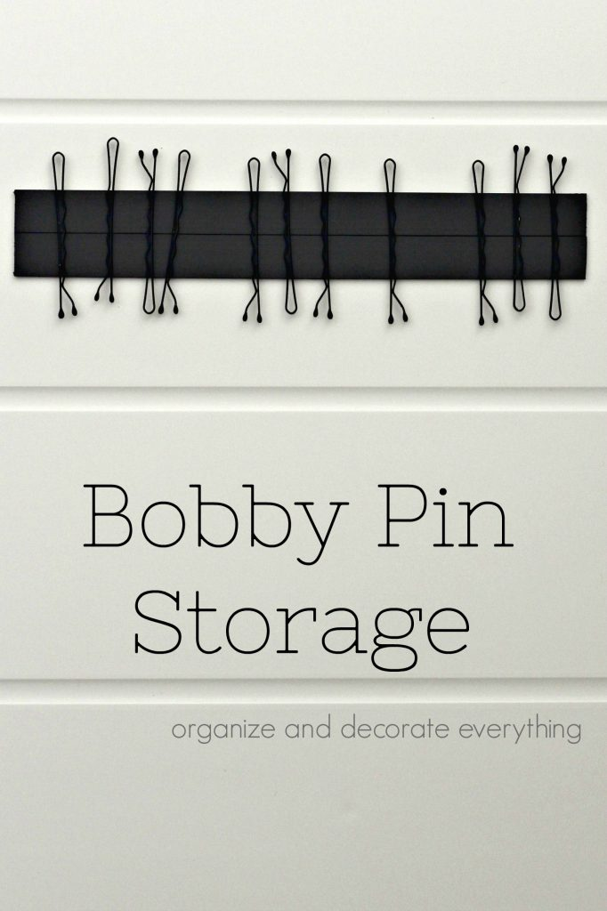 Bobby Pin Storage Ideas