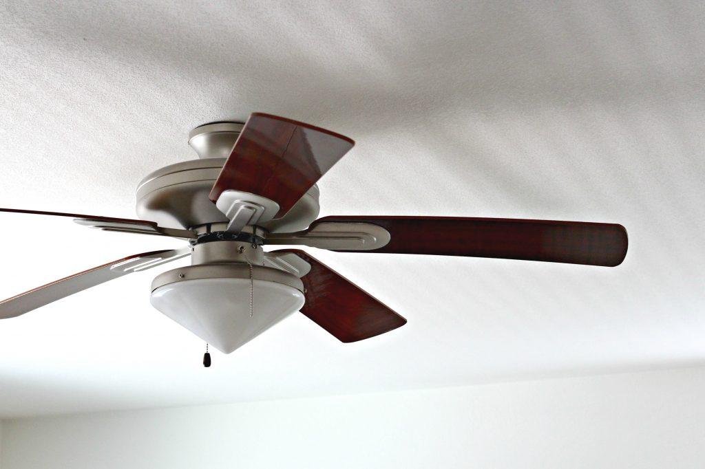 Ceiling Fan cleaned