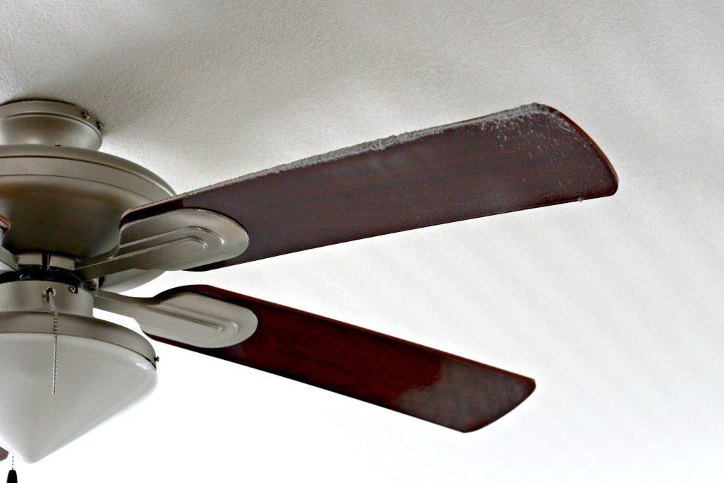 Ceiling Fan dusty blades