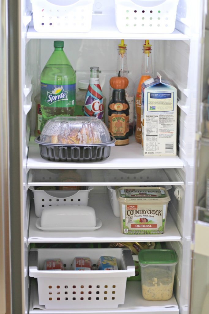 Easy Liners installed in Fridge