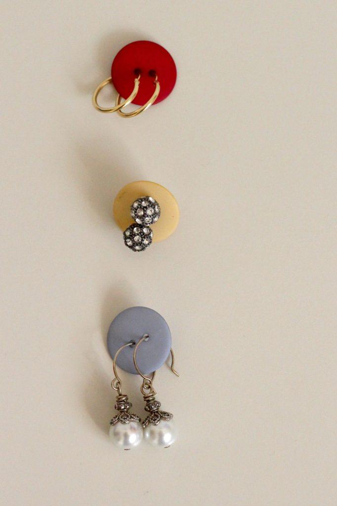 Earrings Organized for Travel
