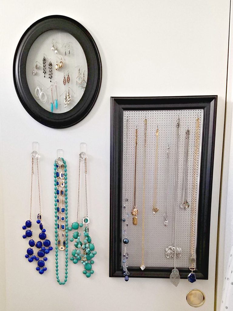 Jewelry Organizing frames