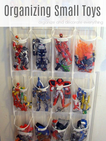 Organizing Small Toys in Creative and Inexpensive Ways pinterest