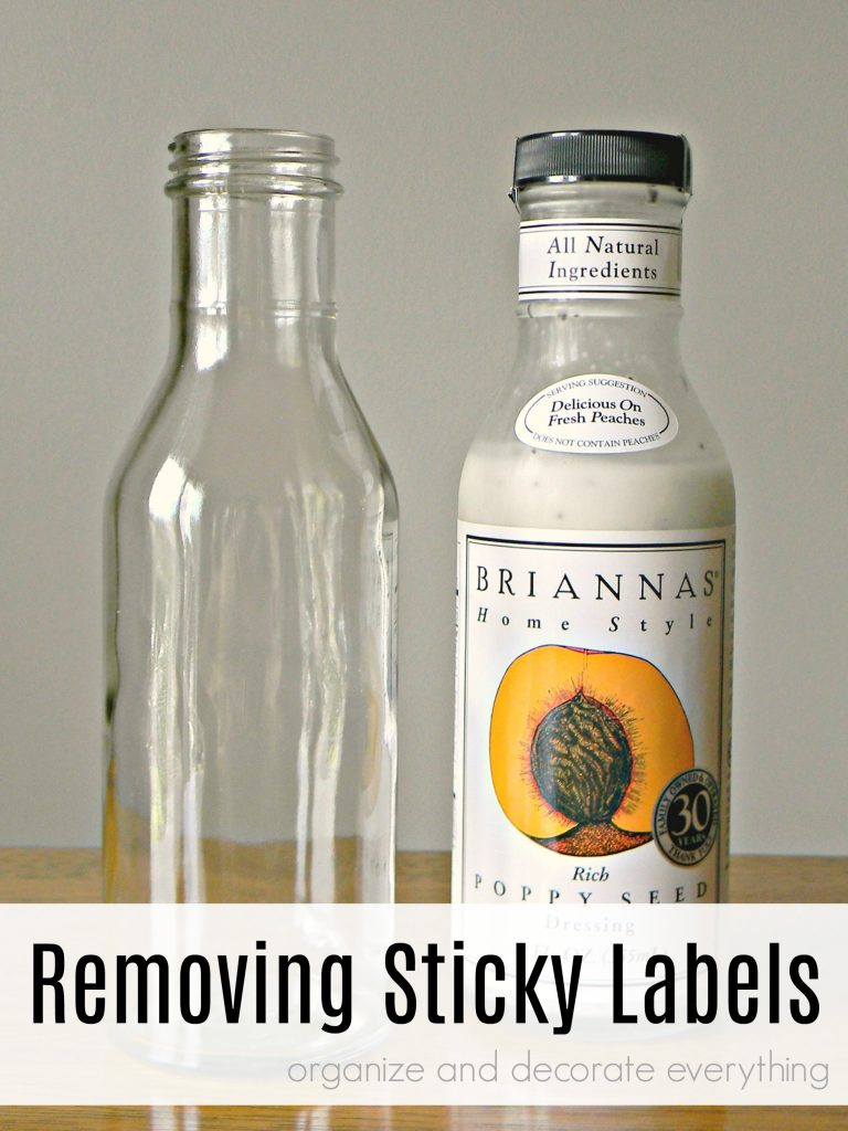 Removing Sticky Labels the Easy Way